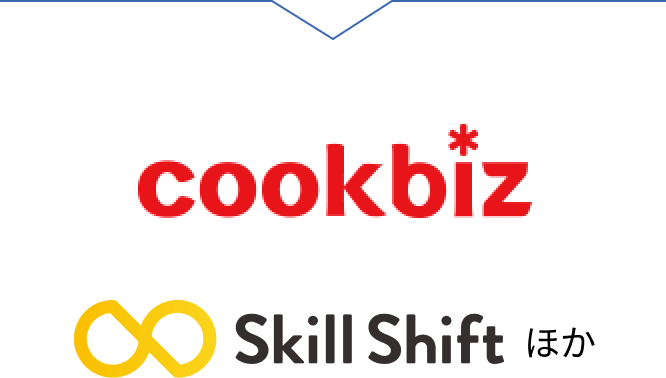 バイトルPRO Skill Shift クックビズ ルーキー Agre ワーキン